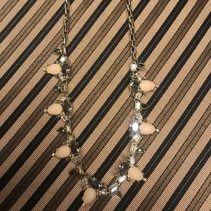 Black house white market necklace